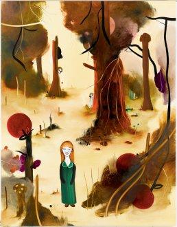 I kirsebærskoven 133 x 170 cm, olie på lærred, 2007