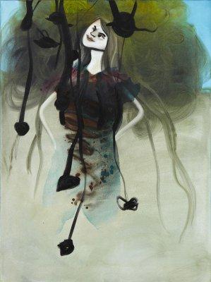 Evig perfektion 100 x 75 cm, akryl og olie på lærred, 2011