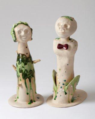 Fra serien Symbolistiske skulpturer varierende mål, 2013