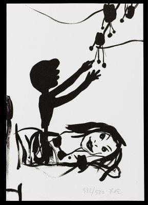Uden titel A4, lithografi, 2004<br /><br />