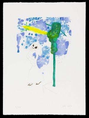 Uden titel 34x47cm, lithografi, 2005