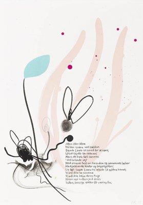 Uden titel 34,5x49,5cm, lithografi, 2015