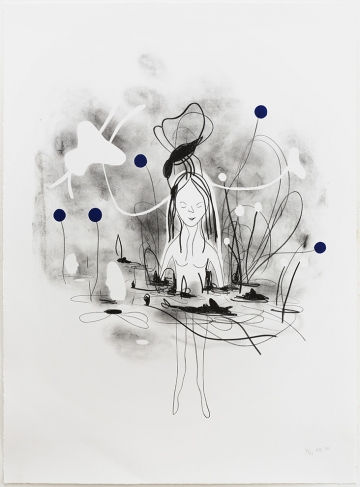 Without title 68x91,5cm, lithography, 2014