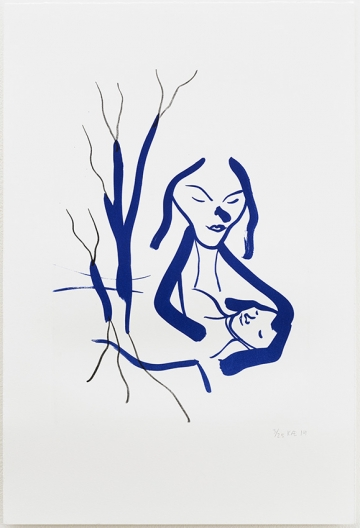 Without title 36x55cm, lithography, 2014