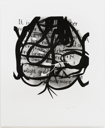 Without title 37x45, lithography, 2014