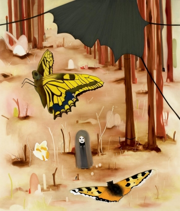 The valley of butterflies
